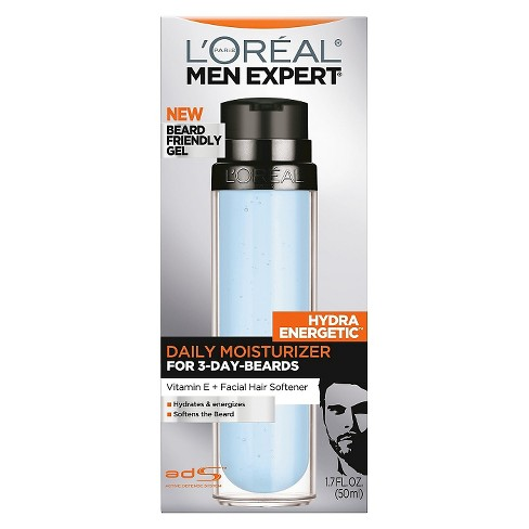 L'Oreal® Paris Men Expert® Hydra Energetic™ Daily Moisturizer for 3 Day Beards - 1.7 fl oz - image 1 of 3