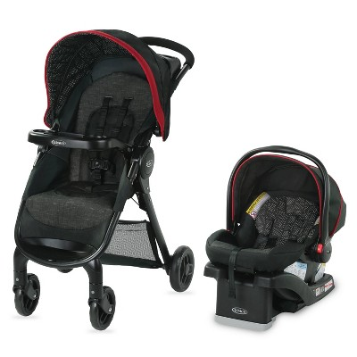 Graco FastAction SE Travel System - Hilt