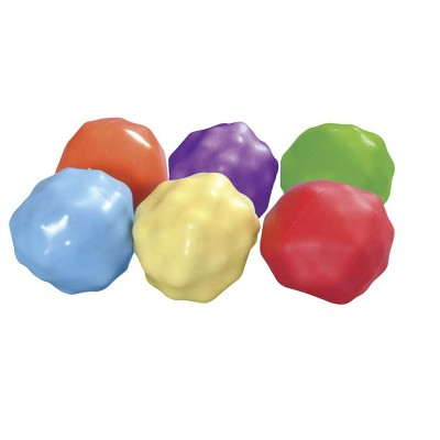 Abilitations Yuck-E-Balls, Assorted Colors, set of 6