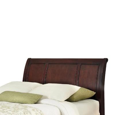 Lafayette Sleigh Headboard Cherry (King) - Home Styles