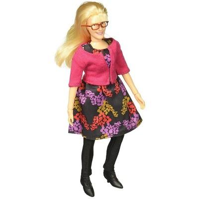"""Bif Bang Pow Big Bang Theory Bernadette Retro Clothed 8"""" Action Figure"""