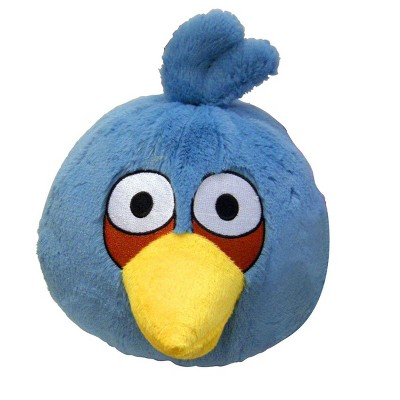 """Commonwealth Toys Angry Birds Blue Bird 16"""" Deluxe Plush"""
