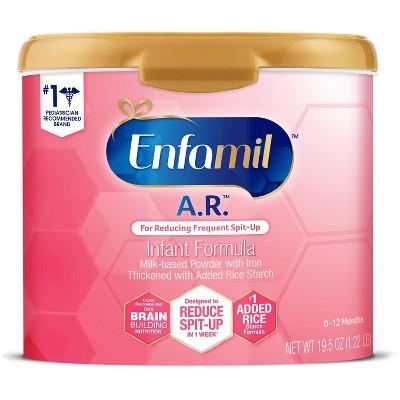 Enfamil A.R. Infant Formula Powder Tub - 19.5oz