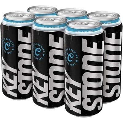 Keystone Ice Beer - 6pk/16 fl oz Cans