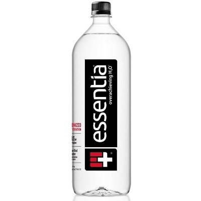 Essentia Water 9.5 pH or Higher Ionized Alkaline Water – 1.5 Liter Bottle