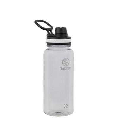 Takeya 32oz Tritan Water Bottle with Spout Lid - Clear