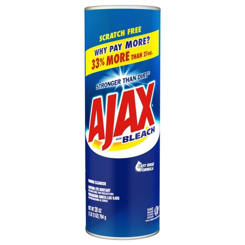 Ajax Powder Cleanser with Bleach - 28oz - image 1 of 3