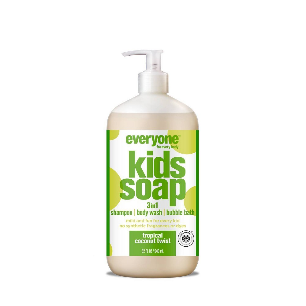 Image of Everyone Tropical Coconut Twist Kids Soap - 32 fl oz