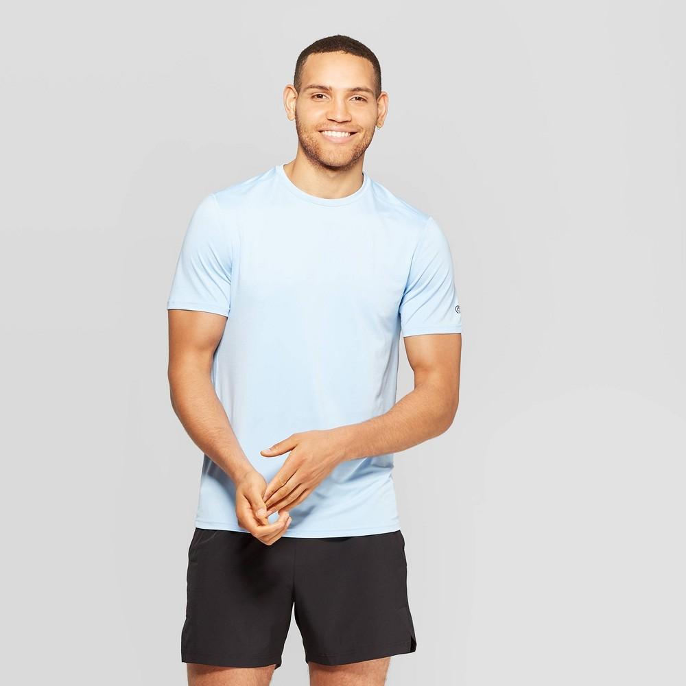e500836155e9 Mens Tech T Shirt C9 Champion Ocean Front Blue L