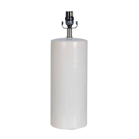 Large Ceramic Lamp Base White - Threshold™ - image 1 of 2
