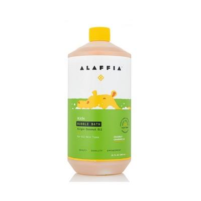 Alaffia Baby & Kids Coconut Chamomile Natural Bubble Bath - 32 fl oz