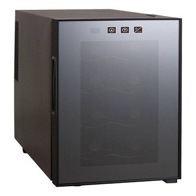 Koolatron 8-Bottle Counter Top Wine Cooler - Black