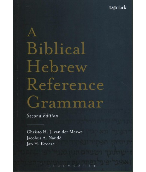 Biblical Hebrew Reference Grammar -  (Paperback) - image 1 of 1