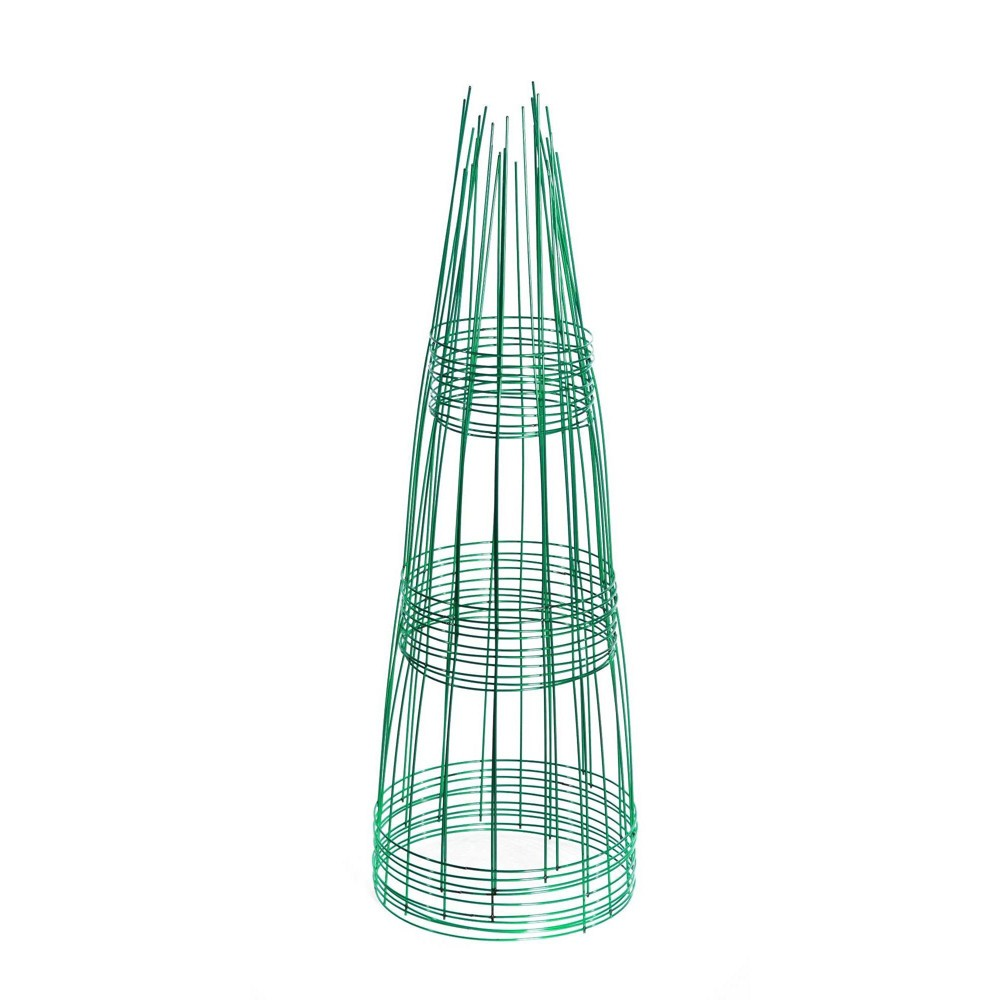 "Image of ""12"""" x 33"""" Plant Holder Support 10pk - Emerald - Glamos"""