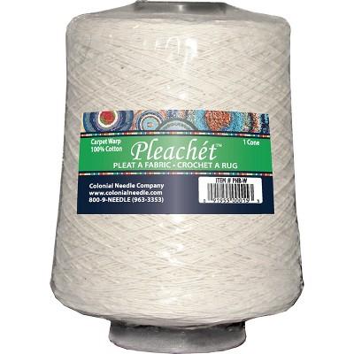 Colonial Needle Pleachet Carpet Warp-1lb Cone