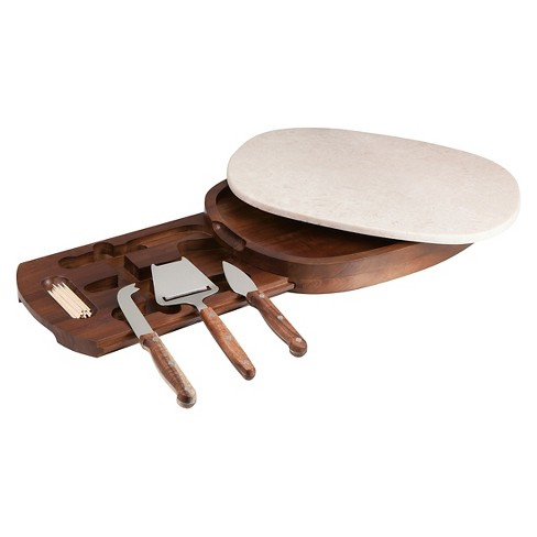 Legacy Carrara Cheese Board with Tools - image 1 of 2