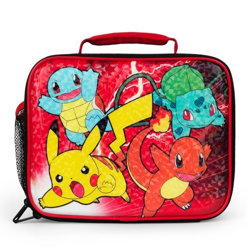 Pokemon Lunch Bag Black Red
