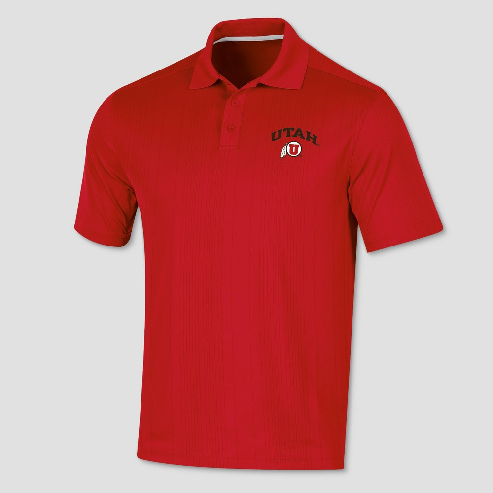 Utah Utes Men's Short Sleeve Game Day Polo Shirt M, Multicolored