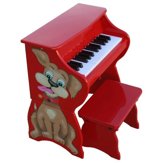 Schoenhut Piano Pals Piano - Dog image number null