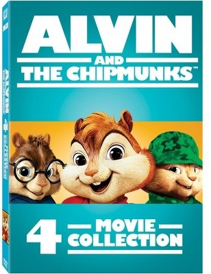 Alvin and the Chipmunks 4-Movie Collection (DVD)