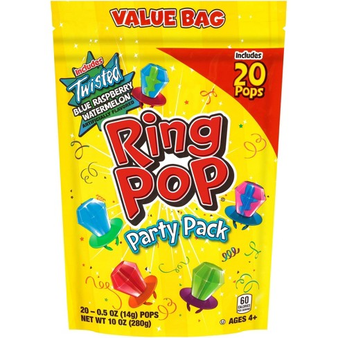 Ring Pop Lollipops and Hard Candies Party Pack - 10oz/20ct - image 1 of 4