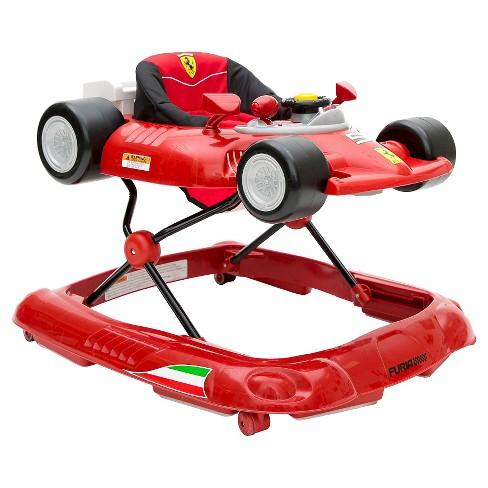 Ferrari F1 Baby Walker Red