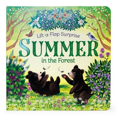 Summer in the Forest - (Lift-A-Flap Surprise Pop-Up Board Books) by  Rusty Finch (Board Book)