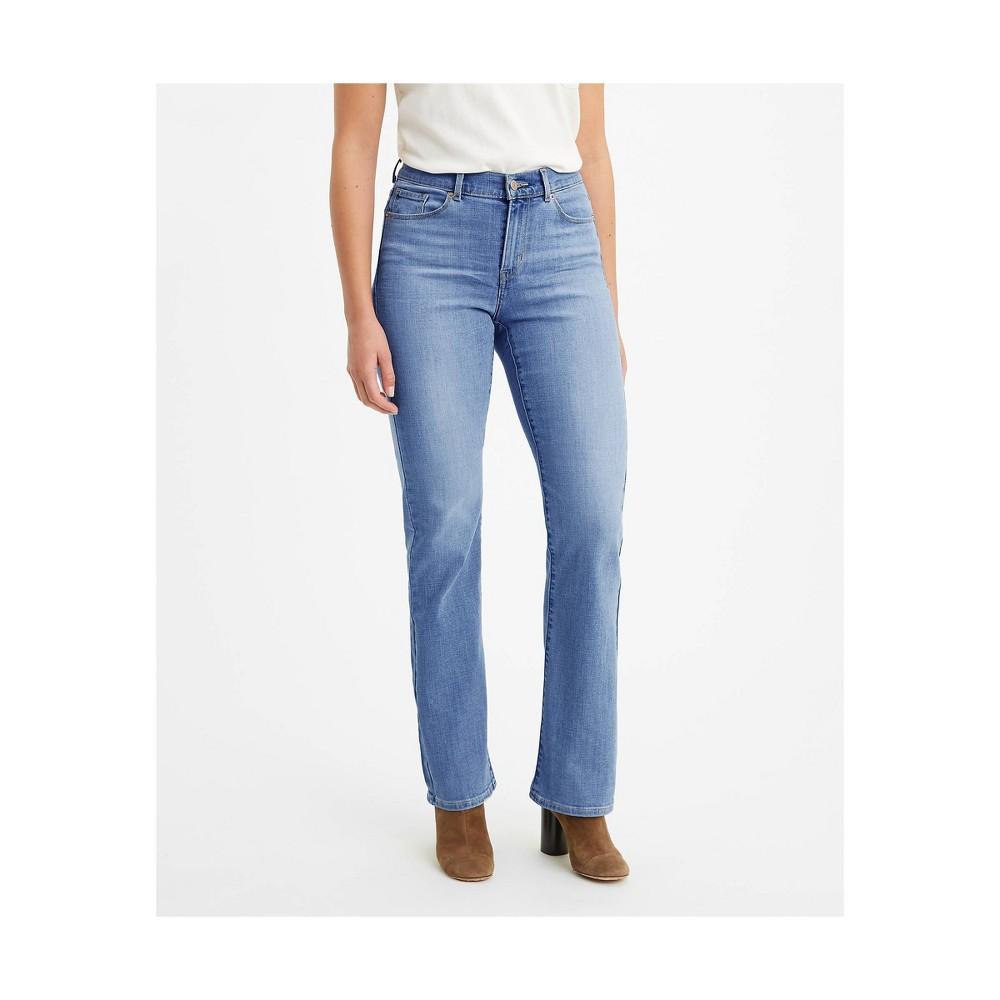 Levi 39 S 174 Women 39 S Mid Rise Classic Bootcut Jeans Lapis Sights 18