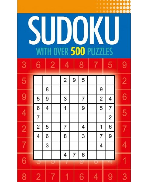 Sudoku : With over 500 Puzzles (Paperback) - image 1 of 1