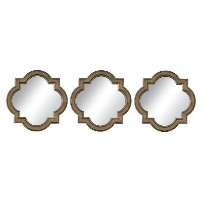 Moroccan Clover Light Gold 3pk - Threshold™