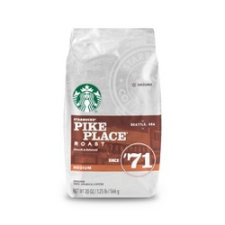 Starbucks Pike Place Roast Medium Roast Ground Coffee - 20oz