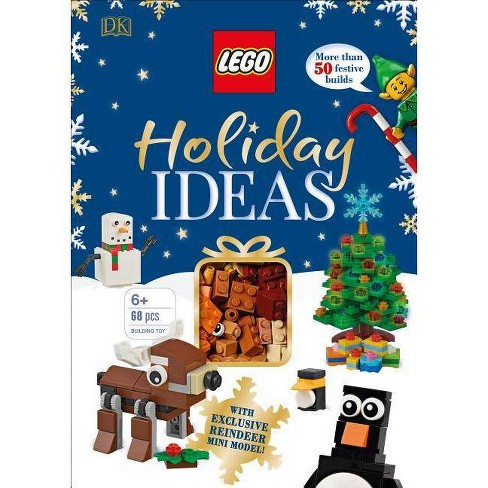 Lego Holiday Ideas : More Than 50 Festive Builds -  (Hardcover) - image 1 of 1
