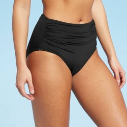 Women's Full Coverage High Waist Swim Bikini Bottom - Kona Sol™