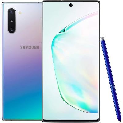 Samsung  Galaxy Note 10 256GB ROM 8GB RAM N970 GSM Unlocked Smartphone - Manufacturer Refurbished