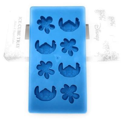 Silver Buffalo Disney Lilo & Stitch Silicone 8 Cube Ice Cube Tray