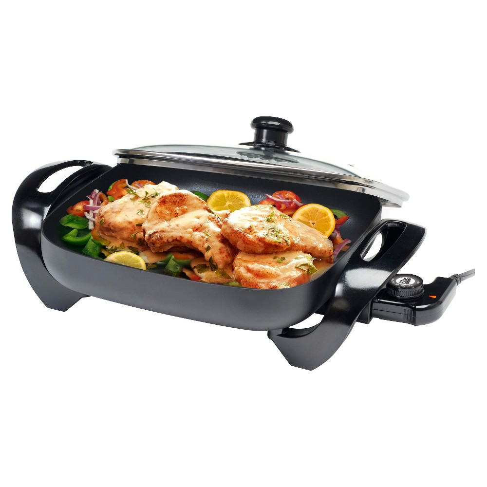 Elite Gourmet Electric Skillet – Black EG-1220G 49111543