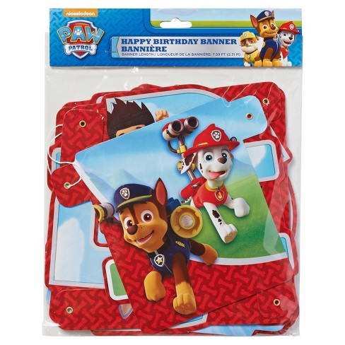 Paw Patrol Birthday Party Banner Target