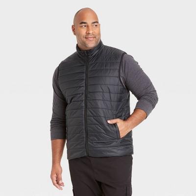 Men's Big & Tall Lightweight Puffer Vest - Goodfellow & Co™