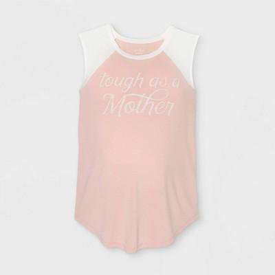 Maternity Sleeveless Baseball Graphic T-Shirt - Isabel Maternity by Ingrid & Isabel™