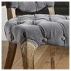 Bates Tufted Dining Chair Set 2ct - Christopher Knight Home - image 2 of 4