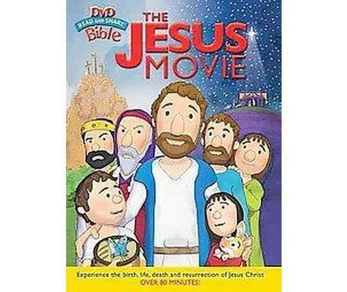 Jesus Movie : Read and Share DVD Bible (Hardcover) - image 1 of 1