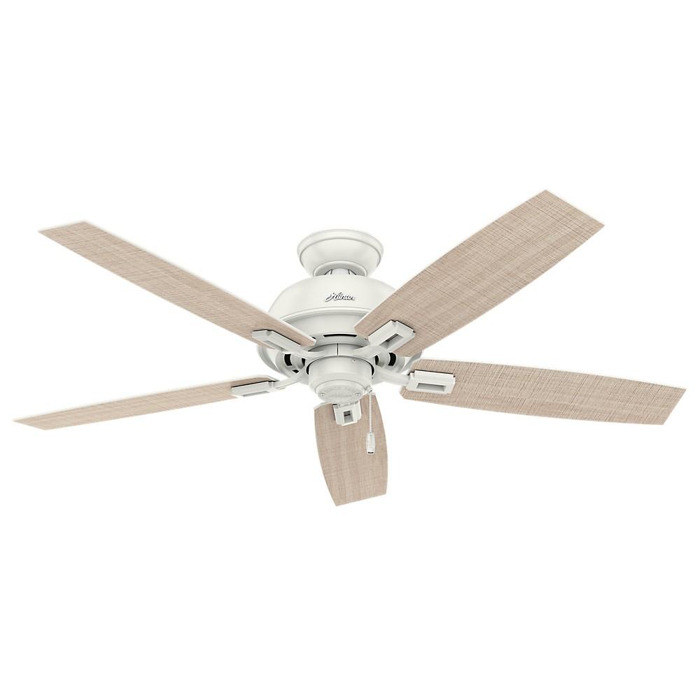 52 Donegan Damp Fresh White Ceiling Fan - Hunter Fan