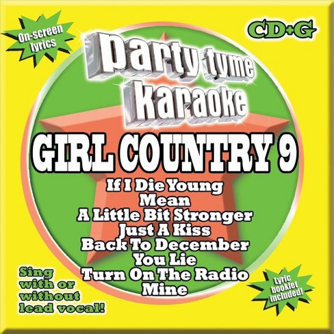 Party tyme karaoke - Party tyme karaoke:Girl country 9 (CD) - image 1 of 1