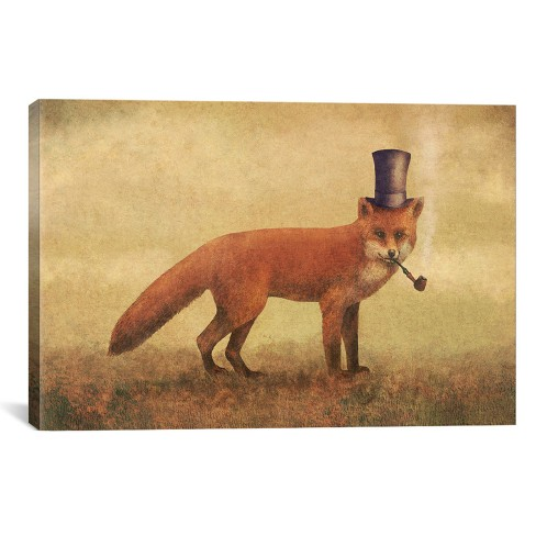 Crazy Like A Fox by Terry Fan Canvas Print 12 x 18 - iCanvas - image 1 of 2