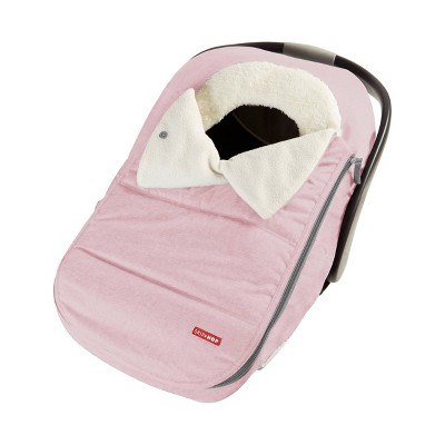 Skip Hop Stroll & Go Car Seat Cover - Pink Heather