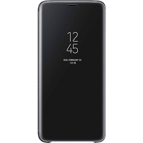 Samsung Galaxy S9+ S-View Flip Cover Case - Black - image 1 of 3