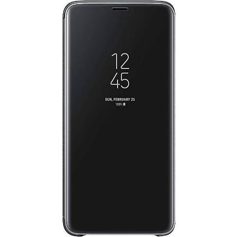 finest selection 8ea06 62e5a Samsung Galaxy S9+ S-View Flip Cover Case - Black