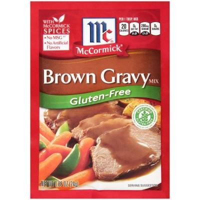 McCormick Gluten Free Brown Gravy .88oz