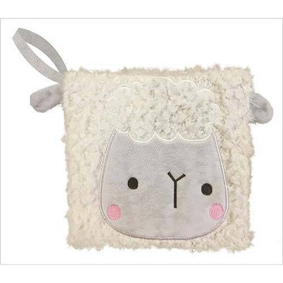 Make Believe Idea Cuddle Buddies Lamb Cloth Book