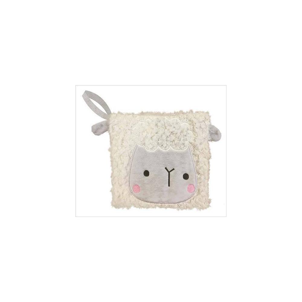 Image of Make Believe Idea Cuddle Buddies Lamb Cloth Book
